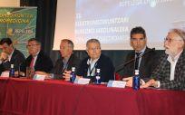 Mikel Torres, Josu Zubia, Santiago Rabanal, José Carlos Blanco, Rikardo Lamadrid y Borja Belandia
