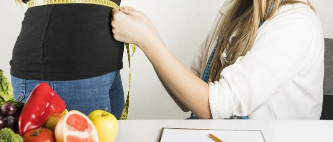 Consulta del nutricionista