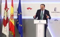 El consejero de Sanidad de Castilla La Mancha, Jesús Fernández Sanz. / Foto: Gobierno de Castilla-La Mancha