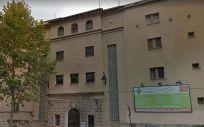 Fachada del Sanatorio San Jorge de Alcoy