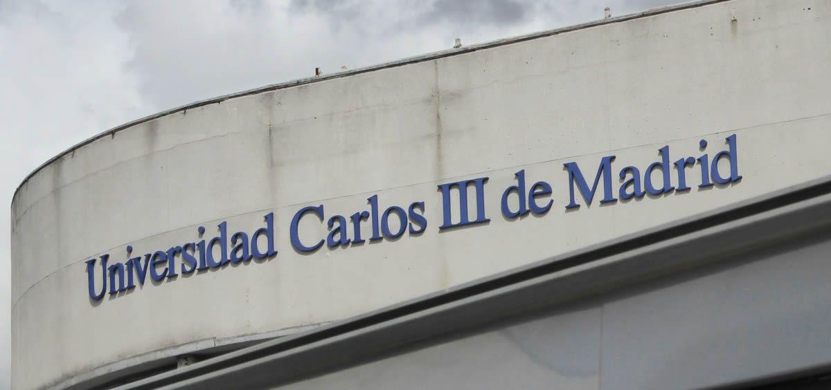 Fachada de la Universidad Carlos III de Madrid (UC3M), entidad que participa como grupo de investigación en el proyecto GenObIA