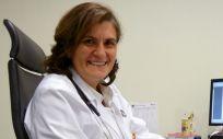 La doctora Carmen Martínez Chamorro, jefa asociada del Servicio de Hematología del Hospital Universitario Quirónsalud Madrid, explica los nuevos tratamientos T-CAR