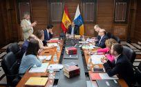 Una imagen del Consejo de Gobierno de Canarias