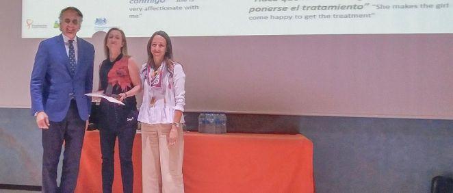 El consejero de Sanidad de la Comunidad de Madrid, Enrique Ruiz Escudero, durante la entrega de los Premios Florence Nightingale, que reconocen la labor de los profesionales de Enfermería