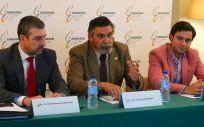 De izquierda a derecha: Andoni Lorenzo, José Luis Llisterri y Miguel Turégano, en la presentación del estudio en el que se analiza el seguimiento y control de las personas con diabetes | Foto: SEMERGEN