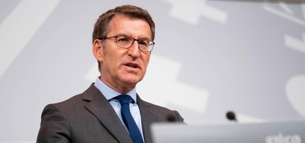 El presidente del Gobierno gallego, Alberto Núñez Feijóo. (Foto. Xunta de Galicia)