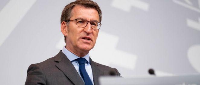 El presidente del Gobierno gallego, Alberto Núñez Feijóo, destacó dos avances en infraestructuras sanitarias en Lugo y Vigo aprobados esta mañana en el Consello de la Xunta.