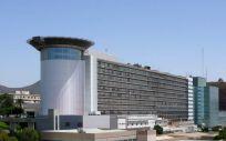 Fachada del complejo hospitalario universitario de canarias (HUC)