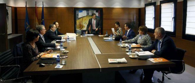 Una imagen del Consejo de Gobierno del Principado de Asturias
