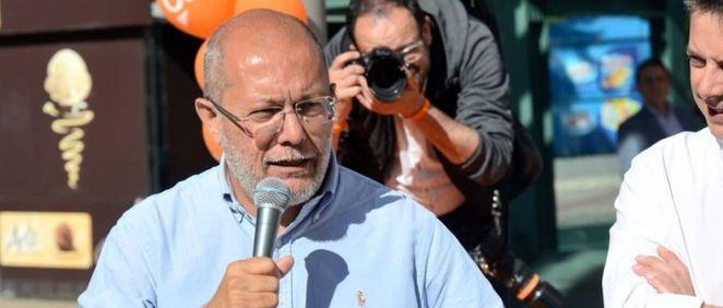 Francisco Igea, de Ciudadanos.