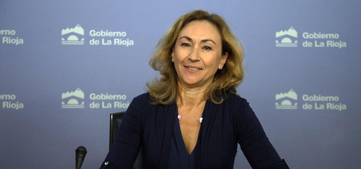 María Martín, consejera de Sanidad en funciones de La Rioja