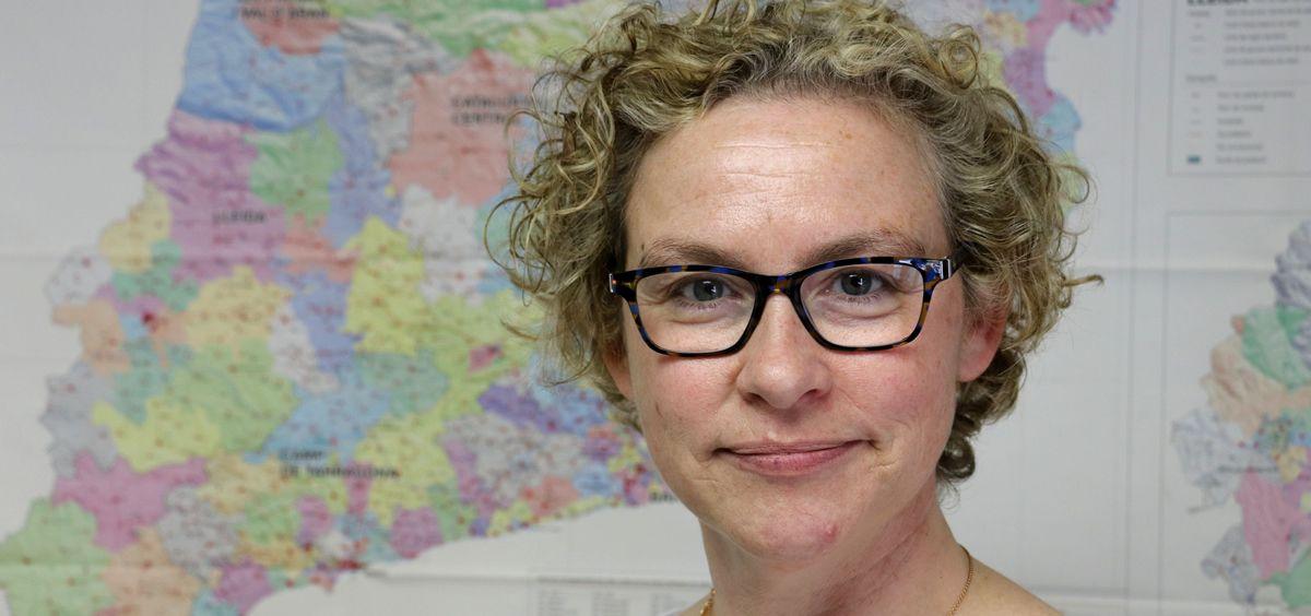 Elena Bartolozzi, secretaria del sector Primaria ICS de Metges de Catalunya.