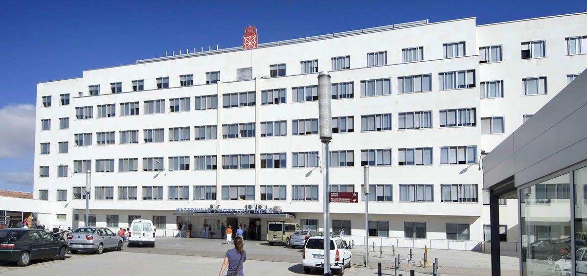 Fachada del Complejo Hospitalario de Navarra