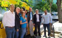 Presentación de la Unidad Móvil de Cribado en el Centro De Acogida San Isidro