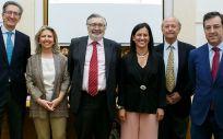 Miembros de Gilead y de la Real Academia de Farmacia