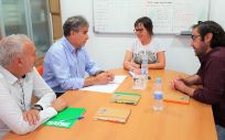 Reunión entre los representantes de la Federación Española de Fibrosis Quística y el Sindicato de Enfermería (Satse)