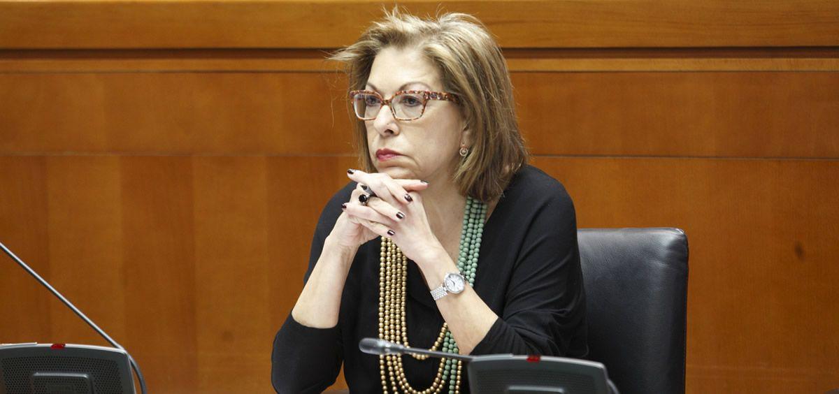 La consejera de Sanidad de Aragón, Pilar Ventura (Foto: Gobierno de Aragón).