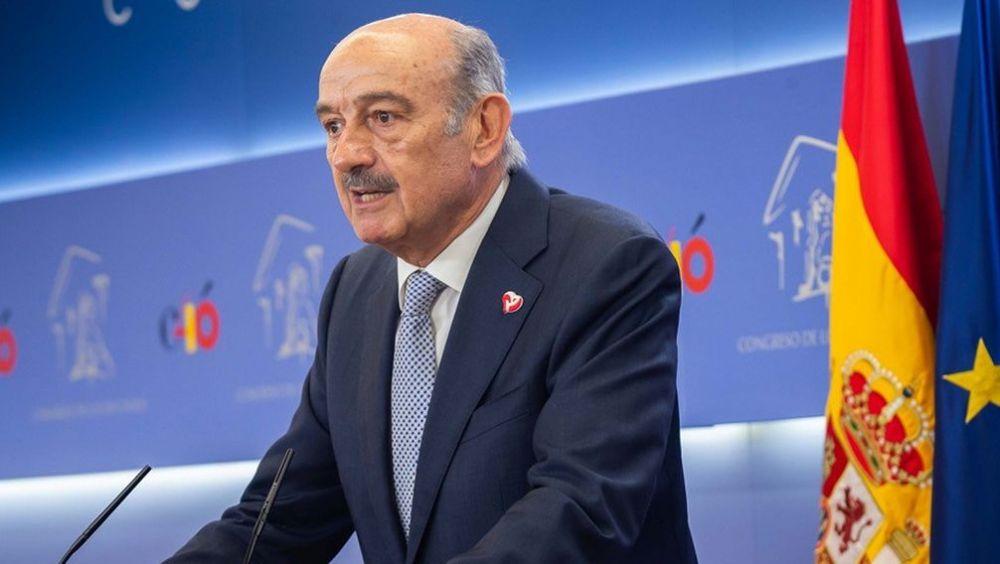 José María Ángel Mazón, diputado en el Congreso de los Diputados por el Partido Regionalista Cántabro (PRC).