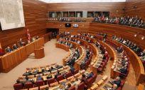 Imagen de una sesión plenaria en las Cortes de Castilla y León.